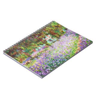 Irises in Monet's Garden Claude Monet Notebook