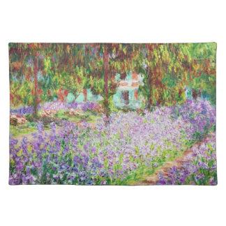 Irises in Monet's Garden Claude Monet Placemats