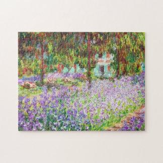 Irises in Monet's Garden Claude Monet Jigsaw Puzzles