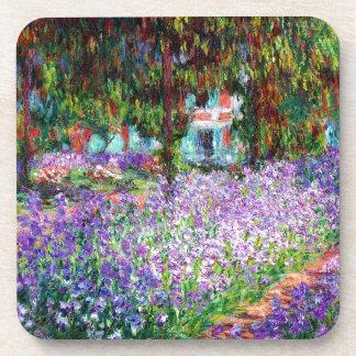 Irises in Monet's Garden Coaster