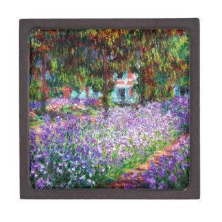 Irises in Monet's Garden Gift Box