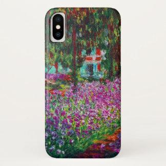 Irises in Monet's Garden iPhone X Case
