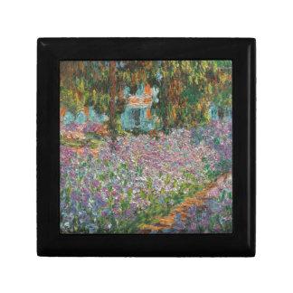 Irises in Monet's Garden Jewelry Box