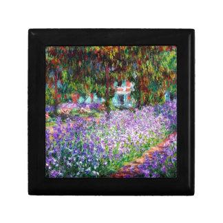 Irises in Monet's Garden Keepsake Box