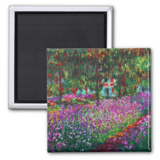 Irises in Monet's Garden Magnet