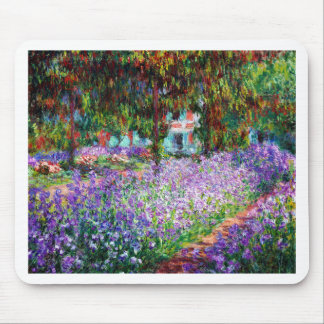 Irises in Monet's Garden Mouse Pad