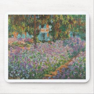Irises in Monet's Garden Mouse Pad