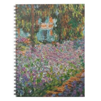 Irises in Monet's Garden Notebook