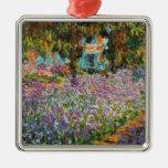 Irises In Monet's Garden Ornament