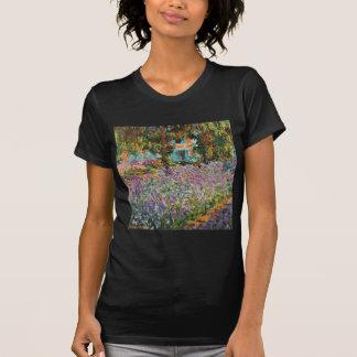 Irises In Monet's Garden Shirt