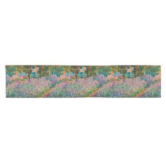 Irises In Monets Garden Short Table Runner