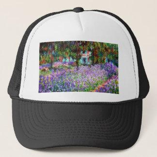 Irises in Monet's Garden Trucker Hat