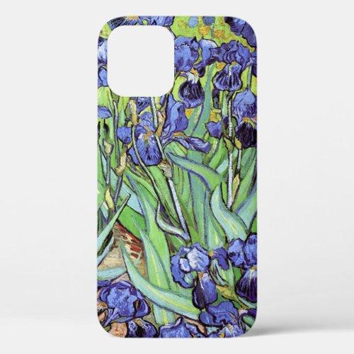 Irises in the Garden by Vincent van Gogh Phone Case