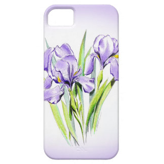 Irises iPhone SE/5/5S Barely There Case
