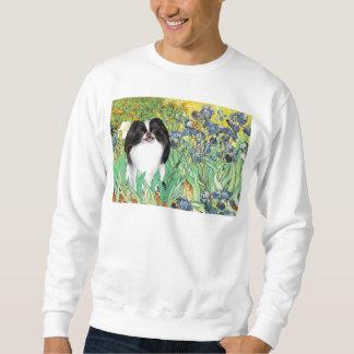 Irises - Japanese Chin 3 Sweatshirt