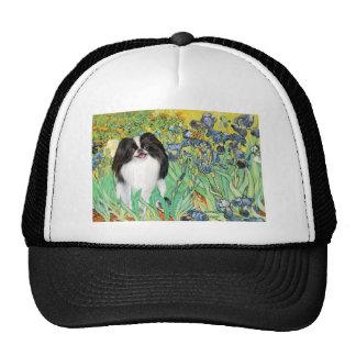 Irises - Japanese Chin 3 Trucker Hat