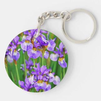 Irises Keychain