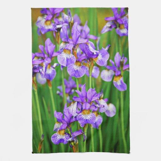 Irises Towels