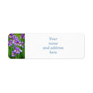 Irises Label