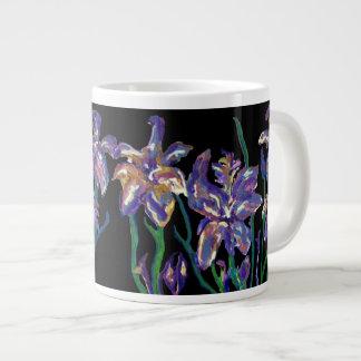 Irises Large Coffee Mug