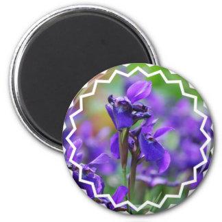 Irises Magnet Refrigerator Magnets