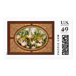 Irises - Mildred Presby 1923 Stamp