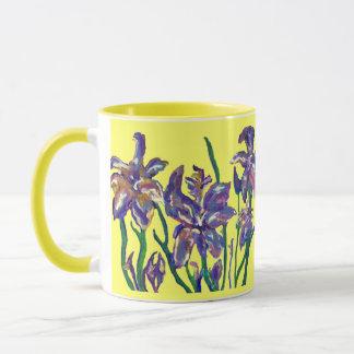 Irises Mug
