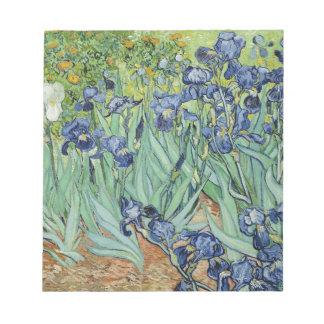 Irises Notepad
