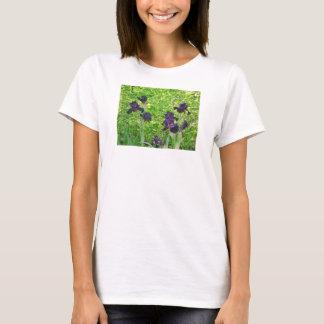 Irises on Women's T-Shirt