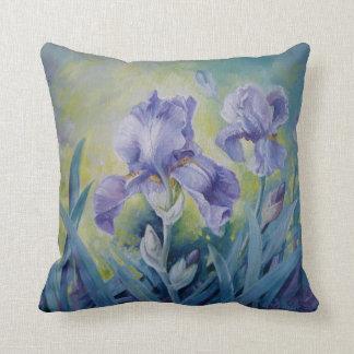 Irises pillow