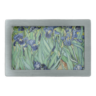 Irises Rectangular Belt Buckle