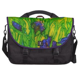 Irises - Rickshaw Commuter Laptop Bag