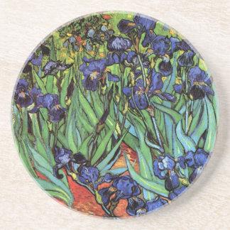 Irises, Saint-Remy, Van Gogh Drink Coasters
