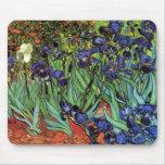 Irises, Saint-Remy, Van Gogh Mousepad