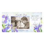 Irises: Save the Date Photo Cards