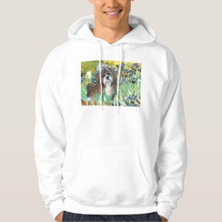 Irises - Shih Tzu (brown-white) Hoody