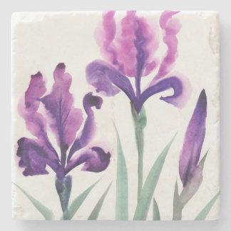 Irises Stone Coaster