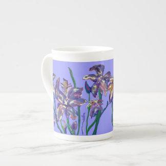 Irises Tea Cup