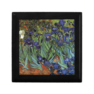 Irises Van Gogh Jewelry Box