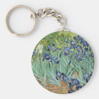 Irises - Van Gogh Keychain