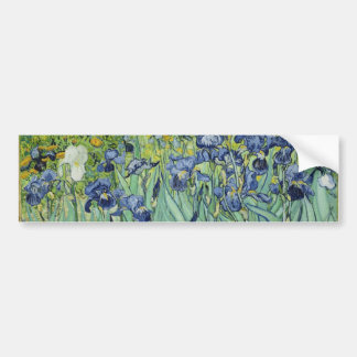 Irises - Van Gogh Sticker Car Bumper Sticker