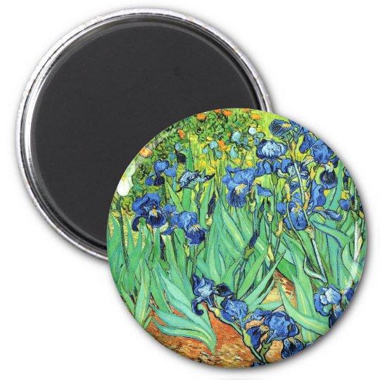 Irises - Vincent Van Gogh (1889) Magnet