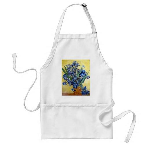 Irises, Vincent van Gogh Adult Apron