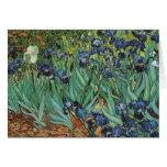 Irises  Vincent van Gogh Greeting Cards