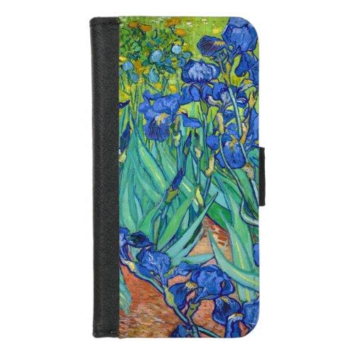 Irises, Vincent van Gogh Phone Case
