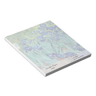 Irises, Vincent van Gogh Notepad
