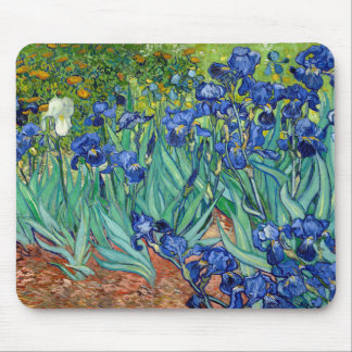 Irises Vincent van Gogh Painting Mousepad