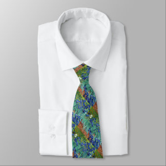 Irises Vincent van Gogh Painting Necktie