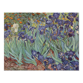 Irises - Vincent Willem van Gogh Card