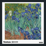 """Irises - Vincent Willem van Gogh Wall Sticker<br><div class=""""desc"""">Irises - Vincent Willem van Gogh is an PD painting of an iris flower in bloom. A unique gift with a birthflower theme for February. Irises are symbolic of faith, valor and wisdom. They are also symbolize valued friendship, hope, my compliments and passion. Iris flowers are also closely associated with...</div>"""